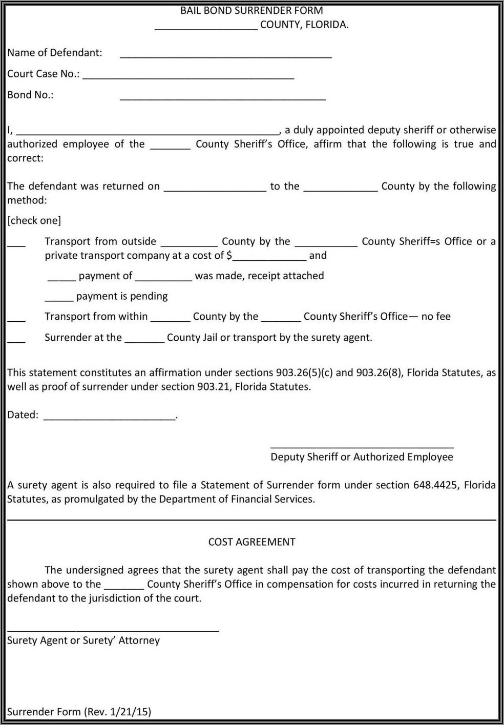 Surety Bond Form (mvt 4 3)