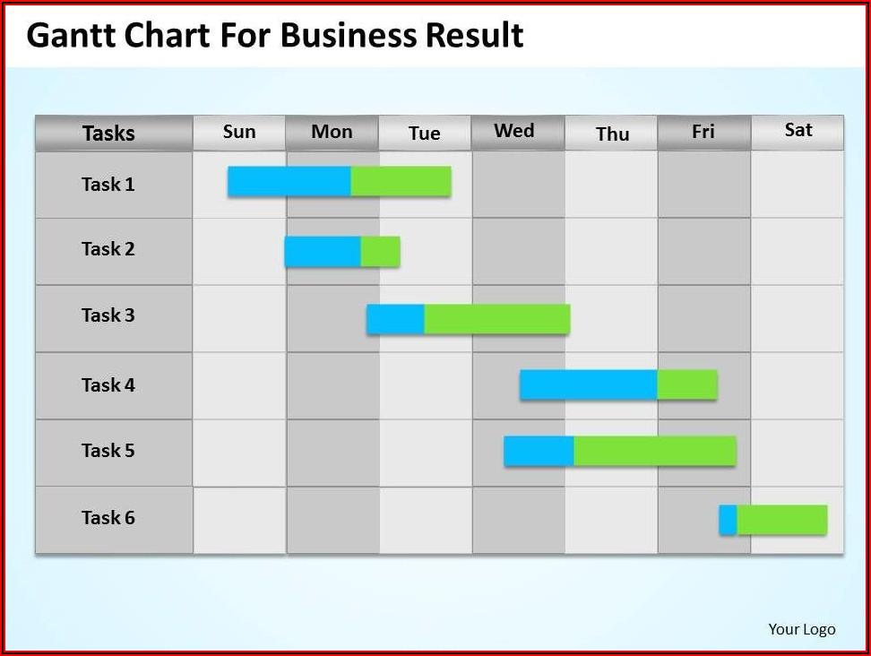 Templates For Gantt Chart