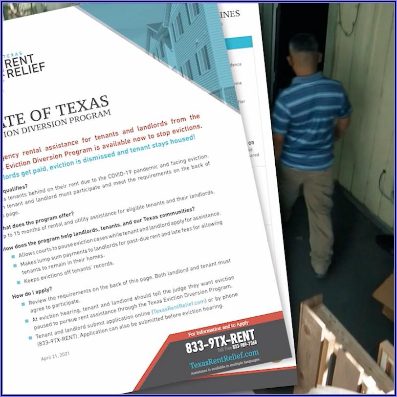 Texas Eviction Diversion Program Forms