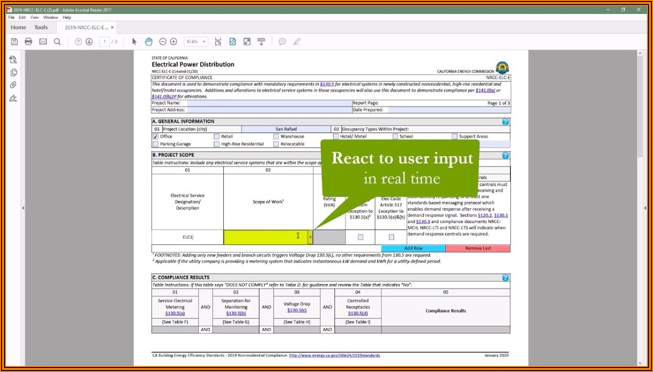 Title 24 Nonresidential Compliance Forms