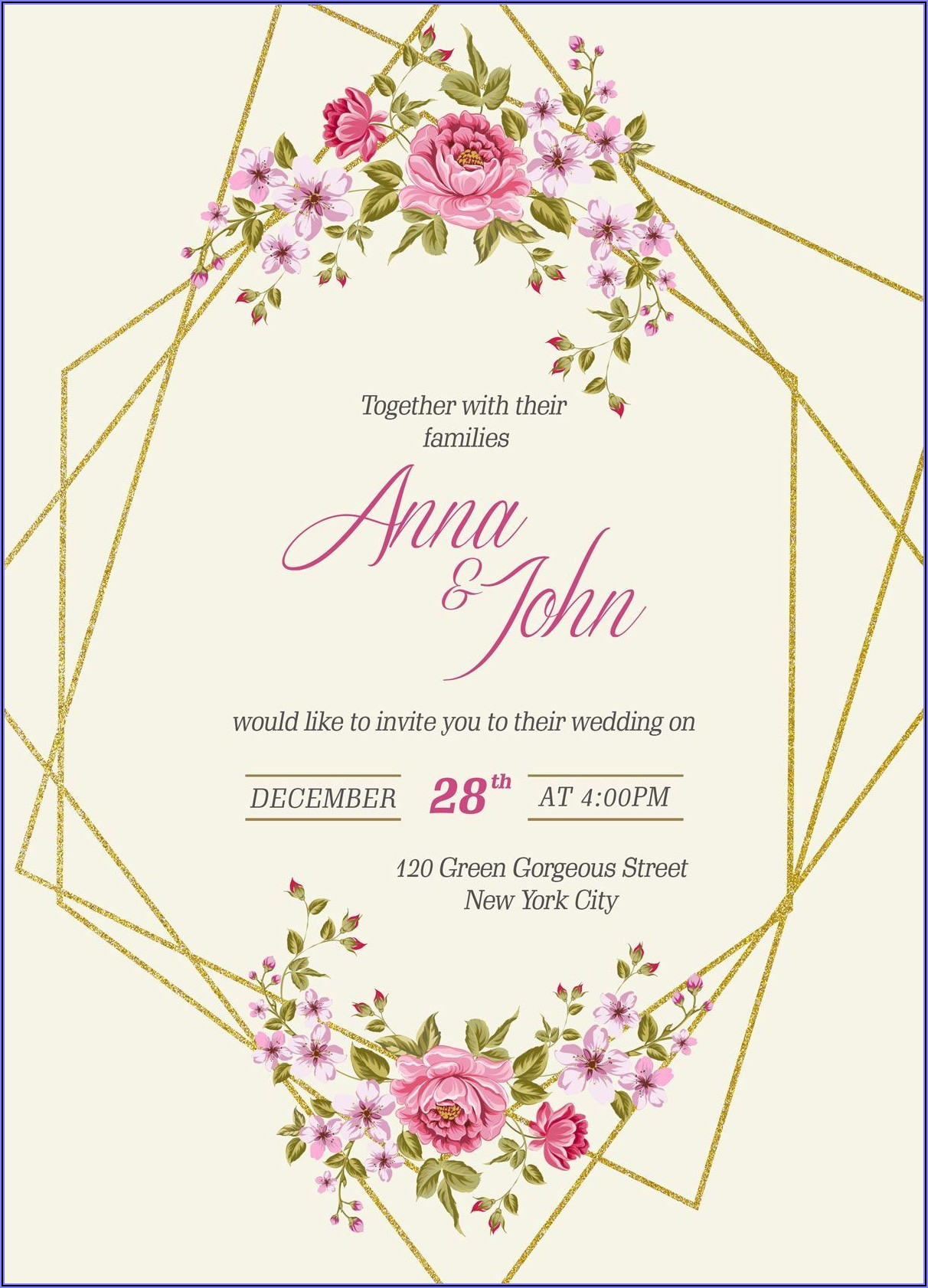 Wedding Invitation Video Templates After Effects Free Download