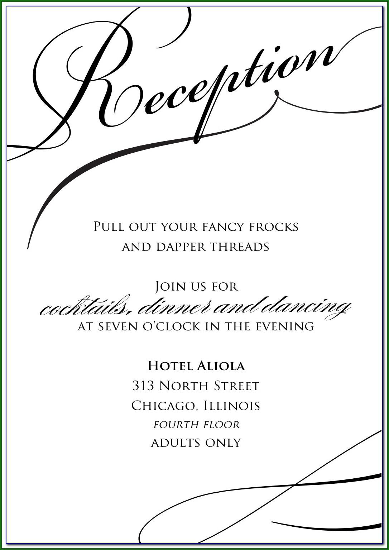 Wedding Rehearsal Dinner Invitations Templates Free