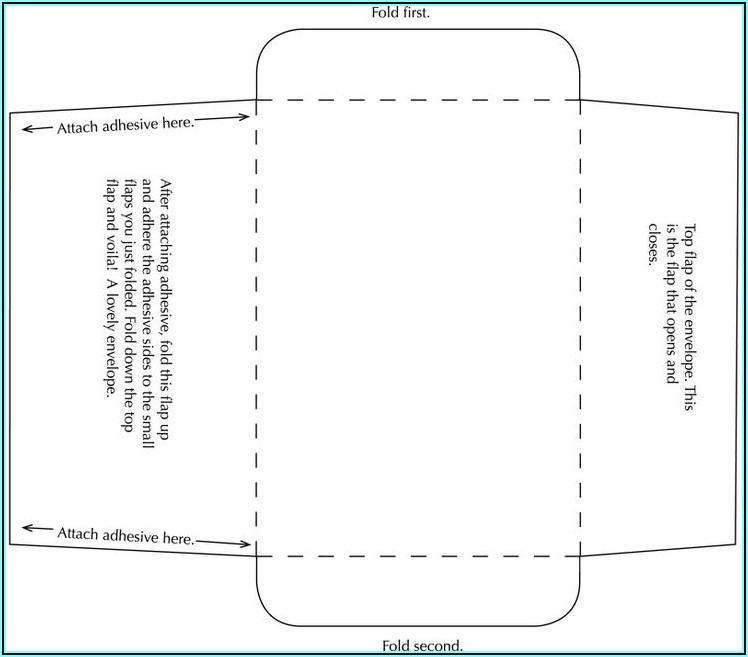 10 Double Window Envelope Template