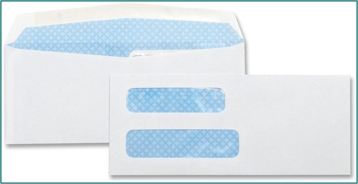 8 58 Window Envelope
