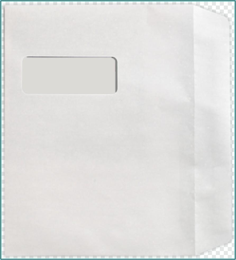 9 X 12 Booklet Window Envelopes
