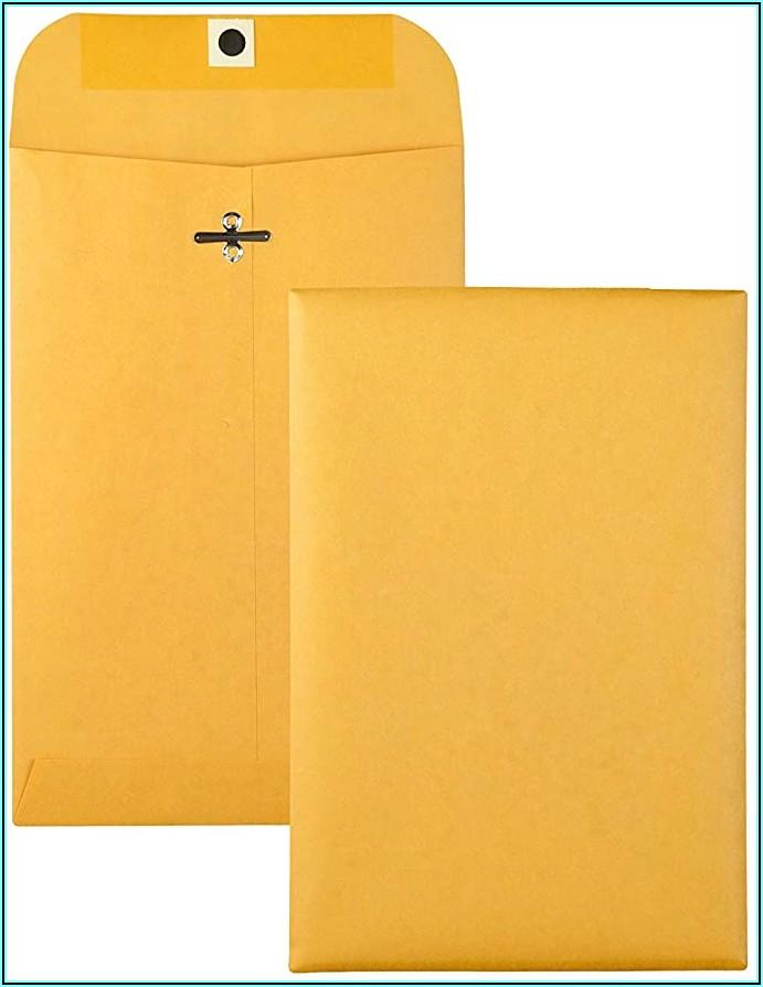 9 X 12 Brown Clasp Envelopes