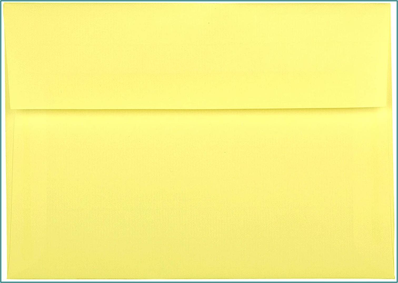A2 Envelope Enclosure Size