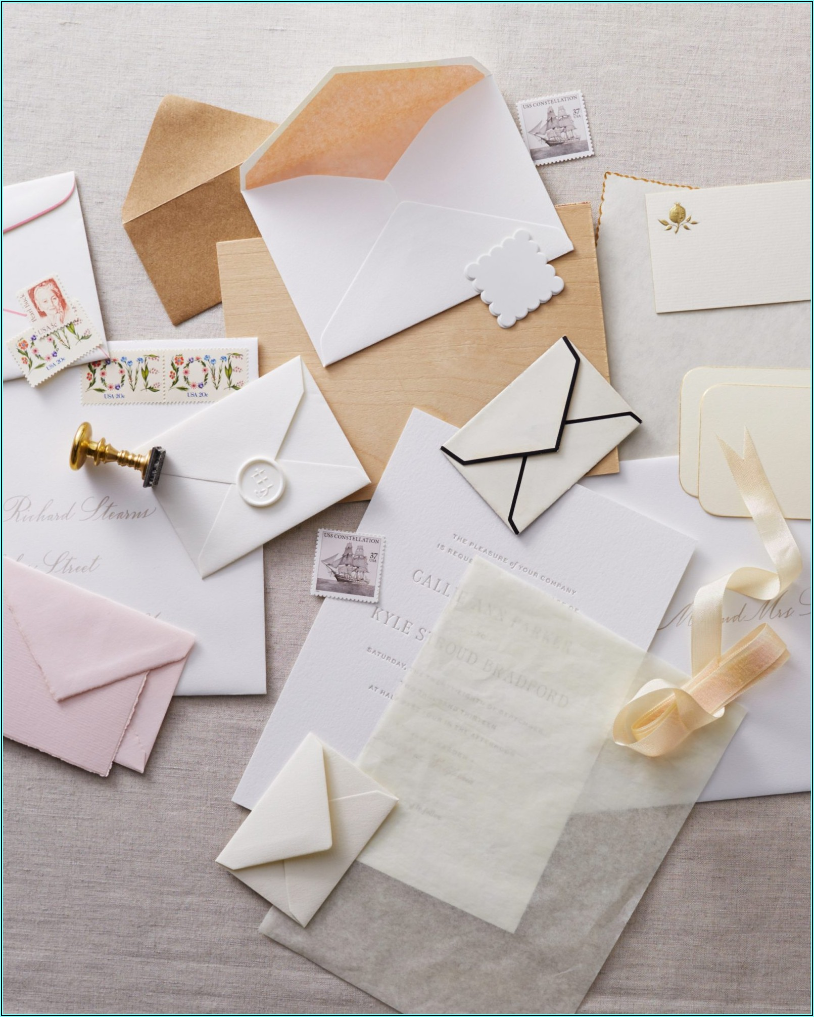 Addressing Wedding Invitations To A Family With No Inner Envelope