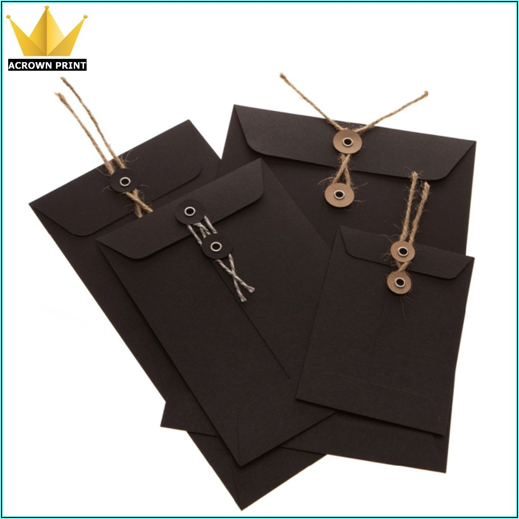 Bespoke String And Washer Envelopes