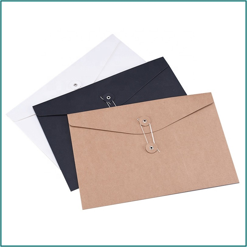 Black String And Washer Envelopes