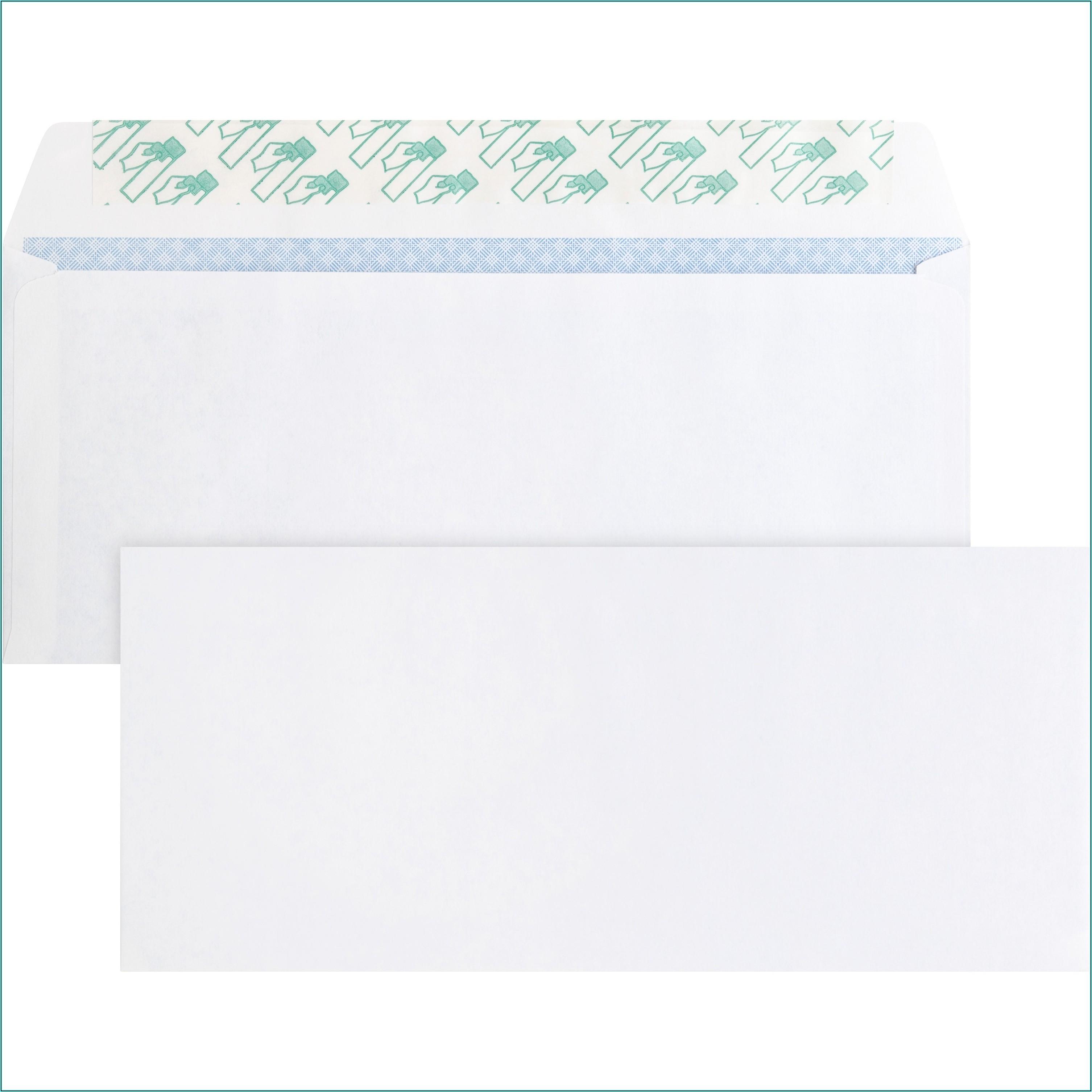 Columbian Security Tint Envelopes Grip Seal No. 10 500 Count