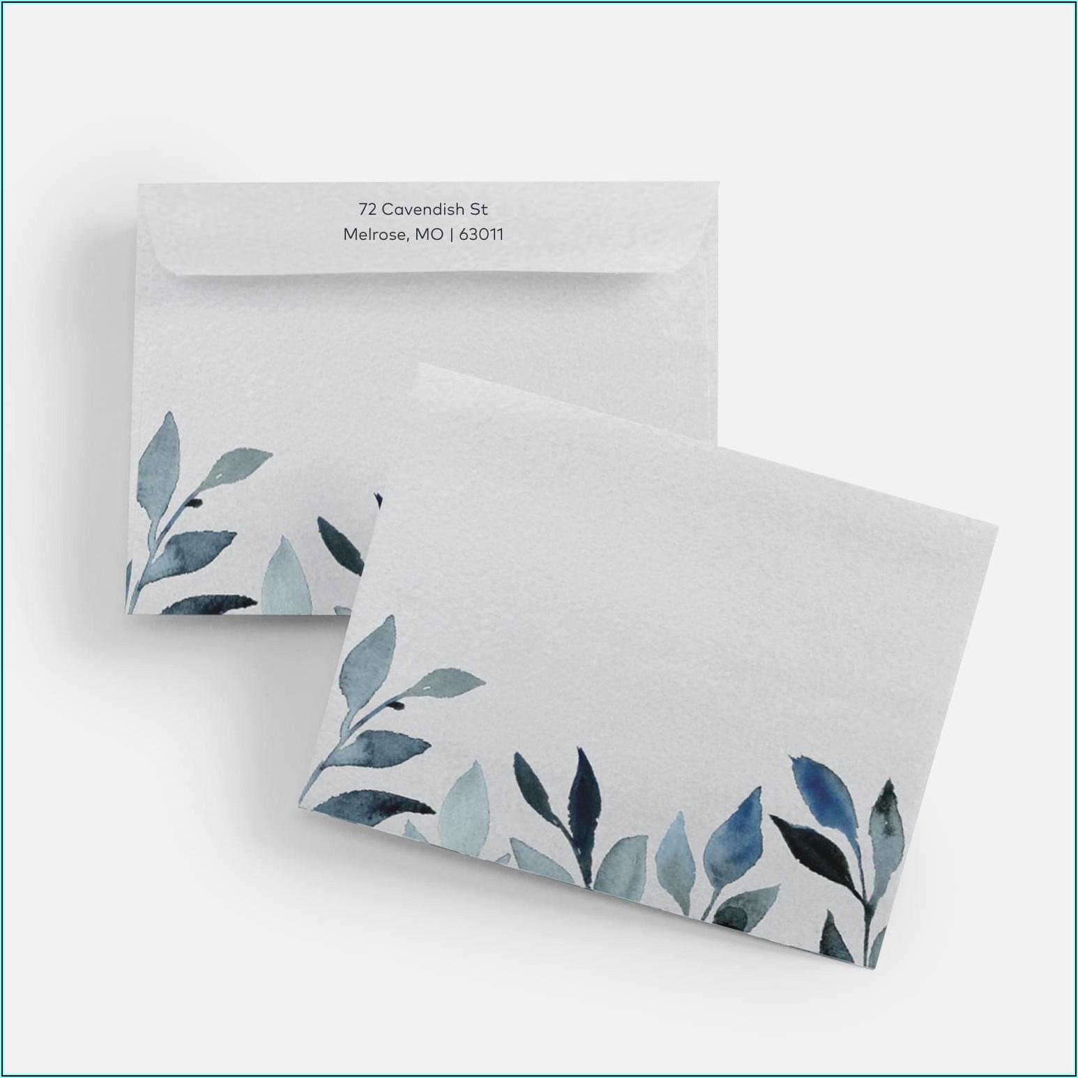 Custom Printed Peel And Seal Envelopes
