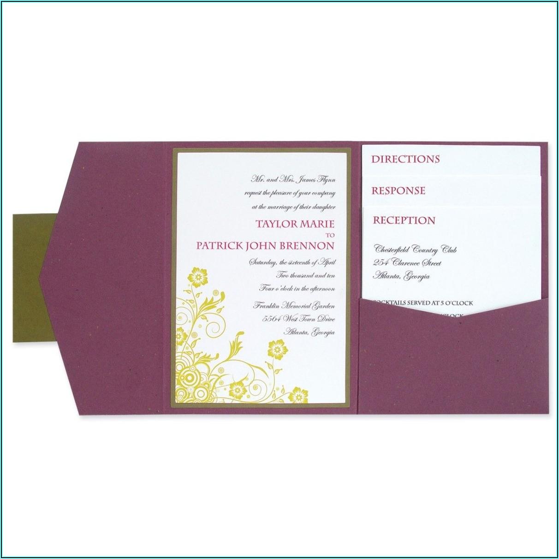 Diy Pocket Envelope Template