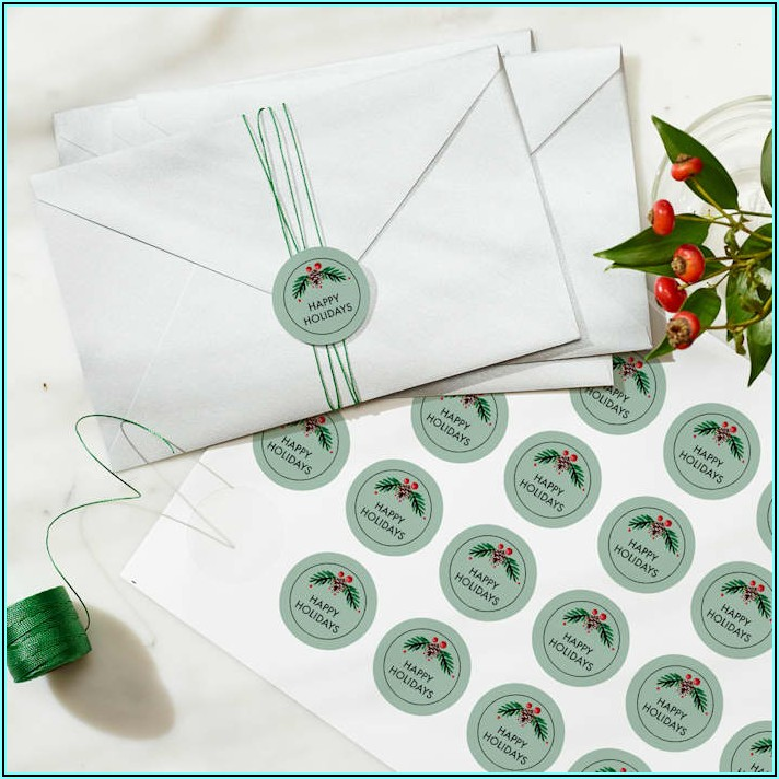 Embossed Initial Envelope Seals