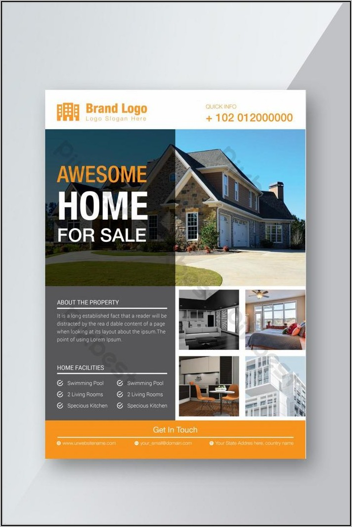 For Sale Flyer Template Free