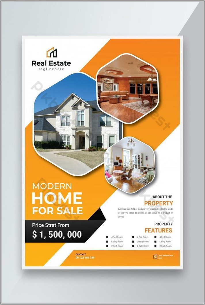 For Sale Flyer Template