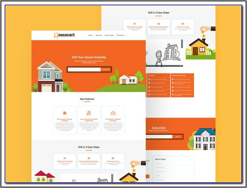 Free Real Estate Feature Sheet Template
