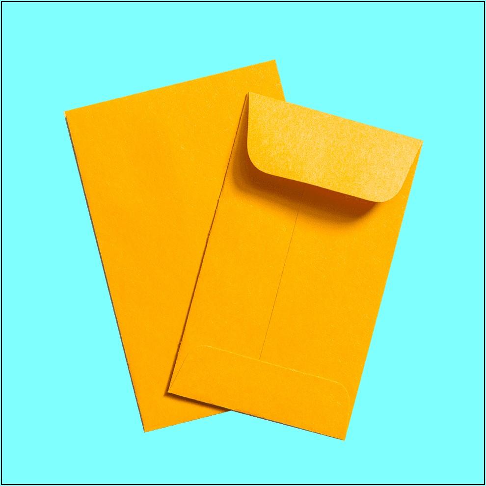 Glassine Envelopes For Stamps