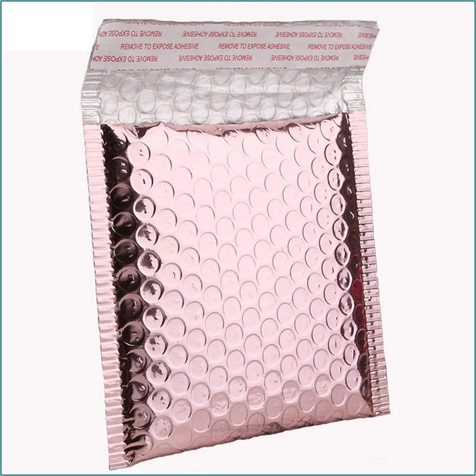 Gold Bubble Wrap Envelopes