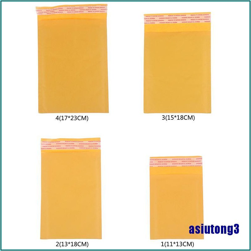 Kraft Bubble Mailers Self Seal Padded Envelopes