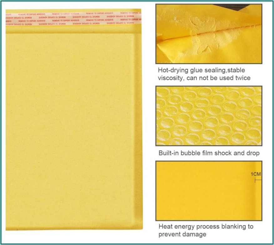 Manila Envelope With Bubble Wrap