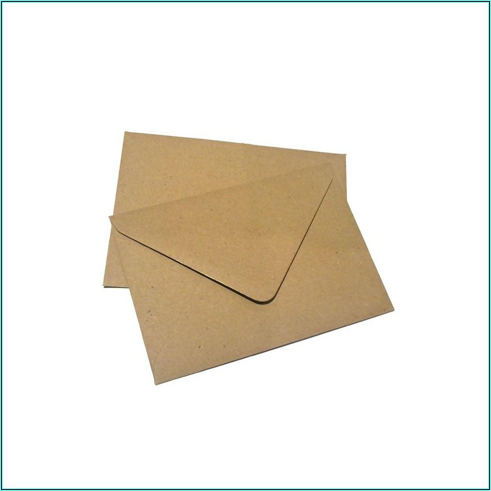 Manila Mailing Envelope Sizes