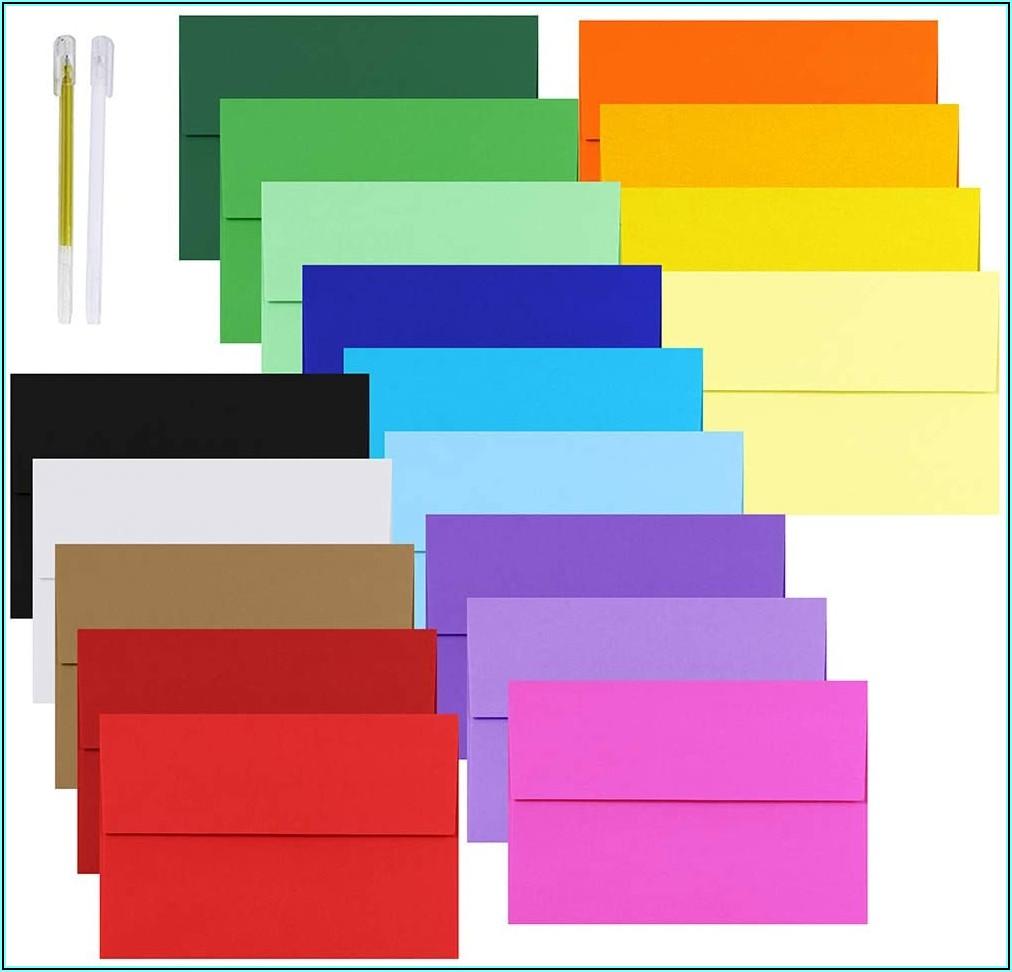 Multi Colored Envelopes Walmart
