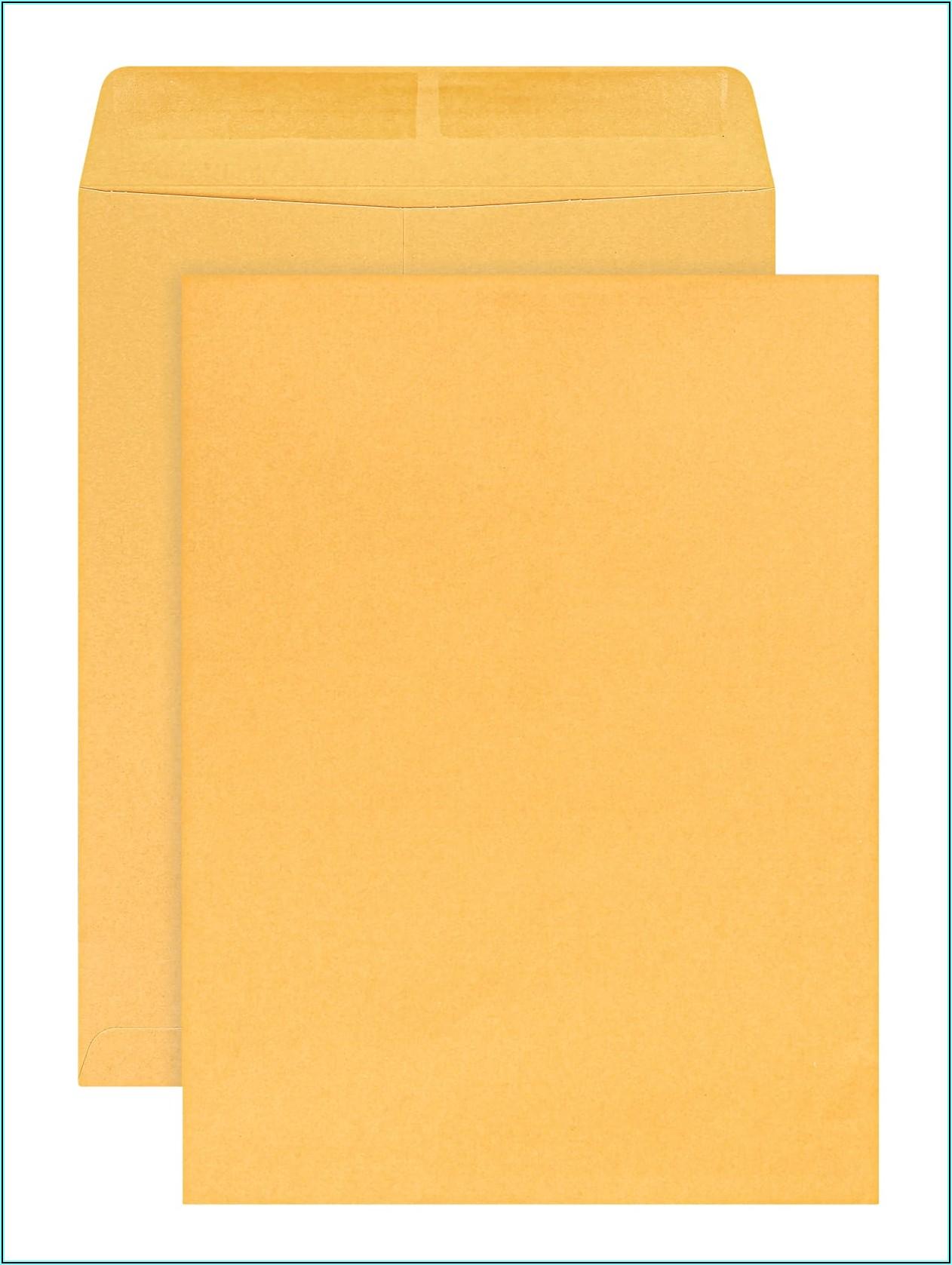 Office Depot Manila Envelopes