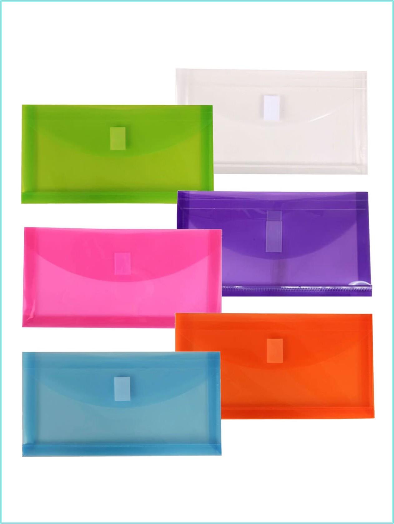 Office Depot Plastic Envelopes