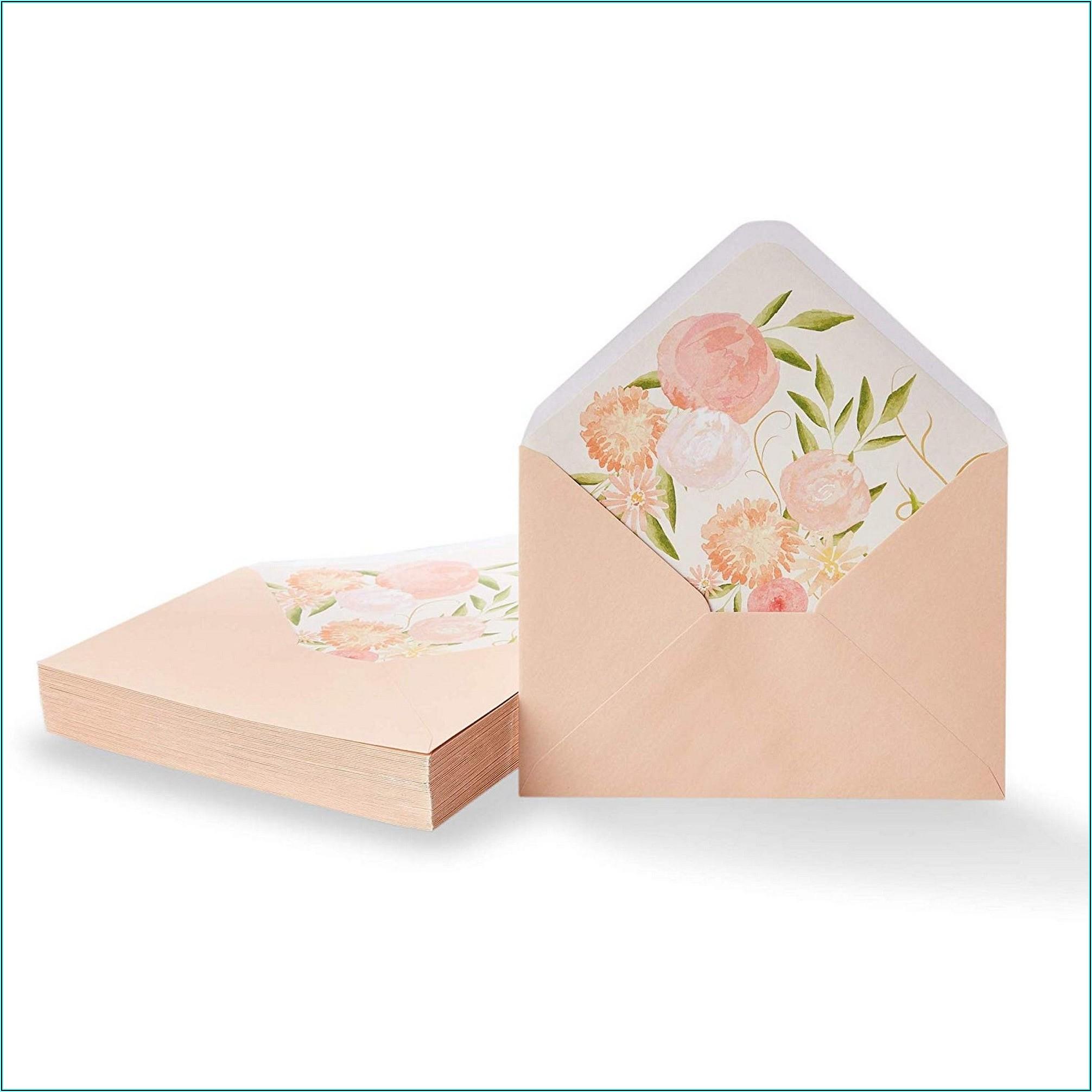 Pink 5x7 Envelopes Walmart