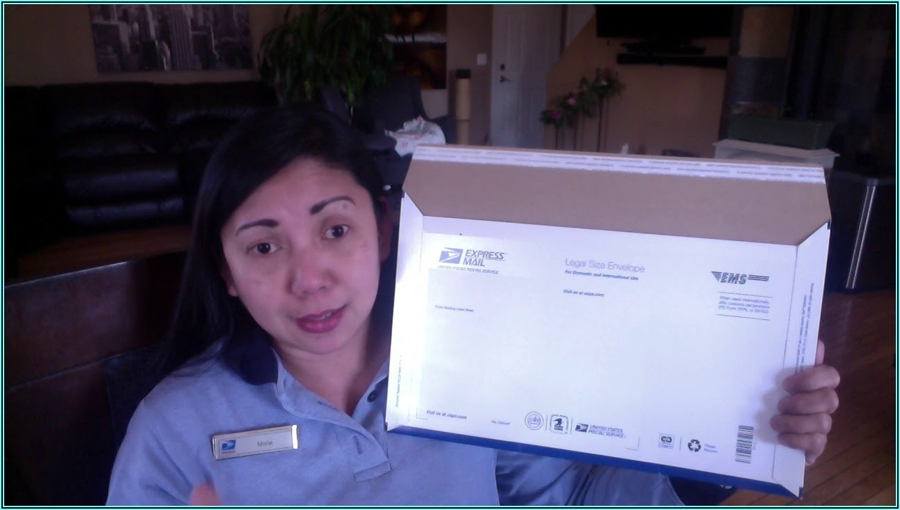 Prepaid Priority Mail Express Envelopes