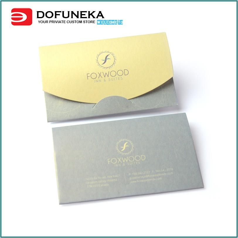 Quality Inn Key Card Envelopes