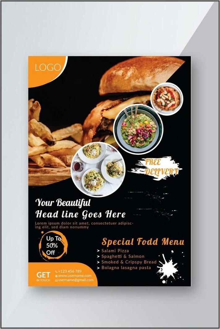 Restaurant Flyer Template Free Download
