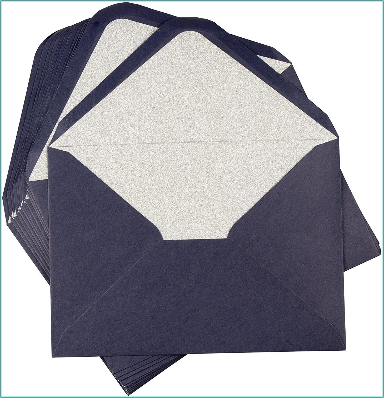 Royal Blue Envelopes 5x7
