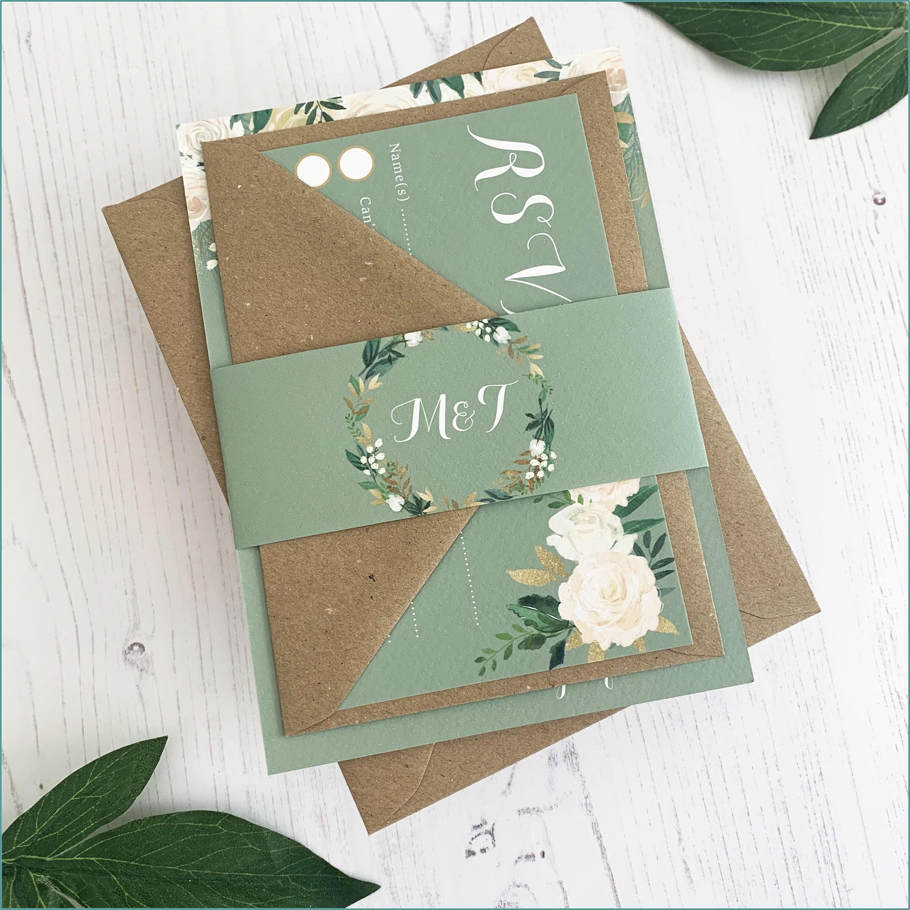 Sage Green Envelopes A5