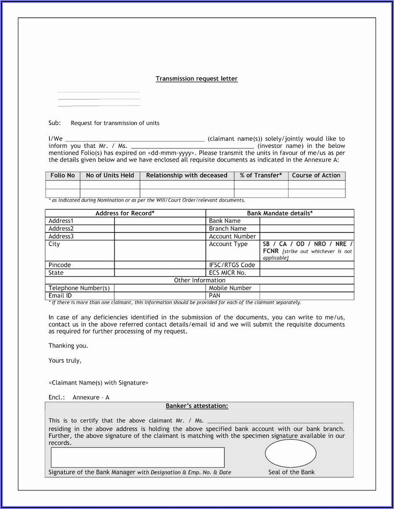 Sample Quit Claim Deed Form