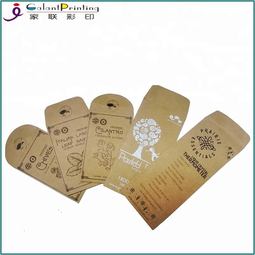 Seed Packet Envelopes Bulk