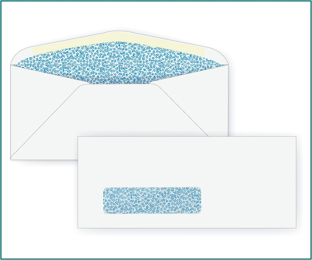 Single Window Envelopes For Quickbooks Checks