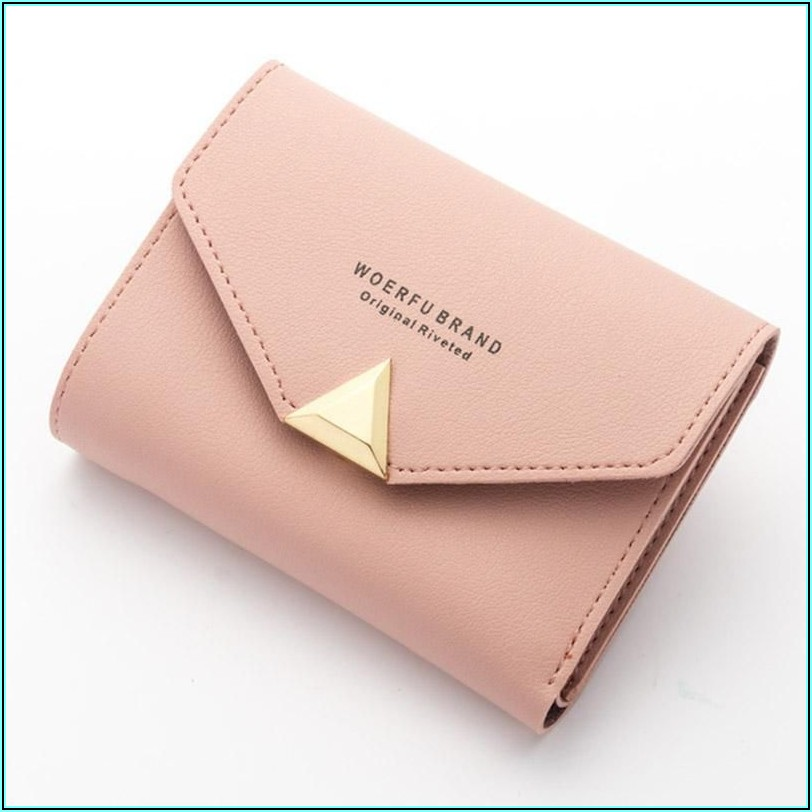 Small Leather Envelope Purse