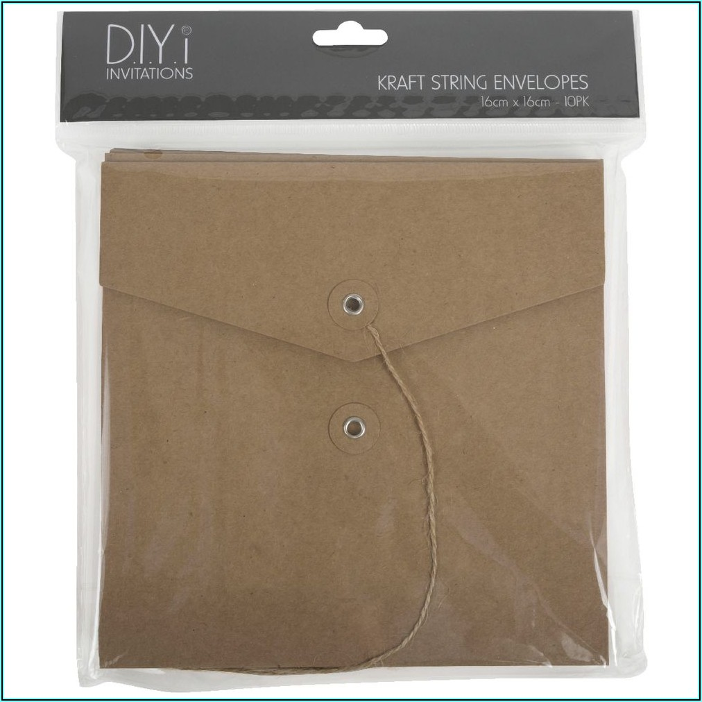 String And Washer Envelopes Australia
