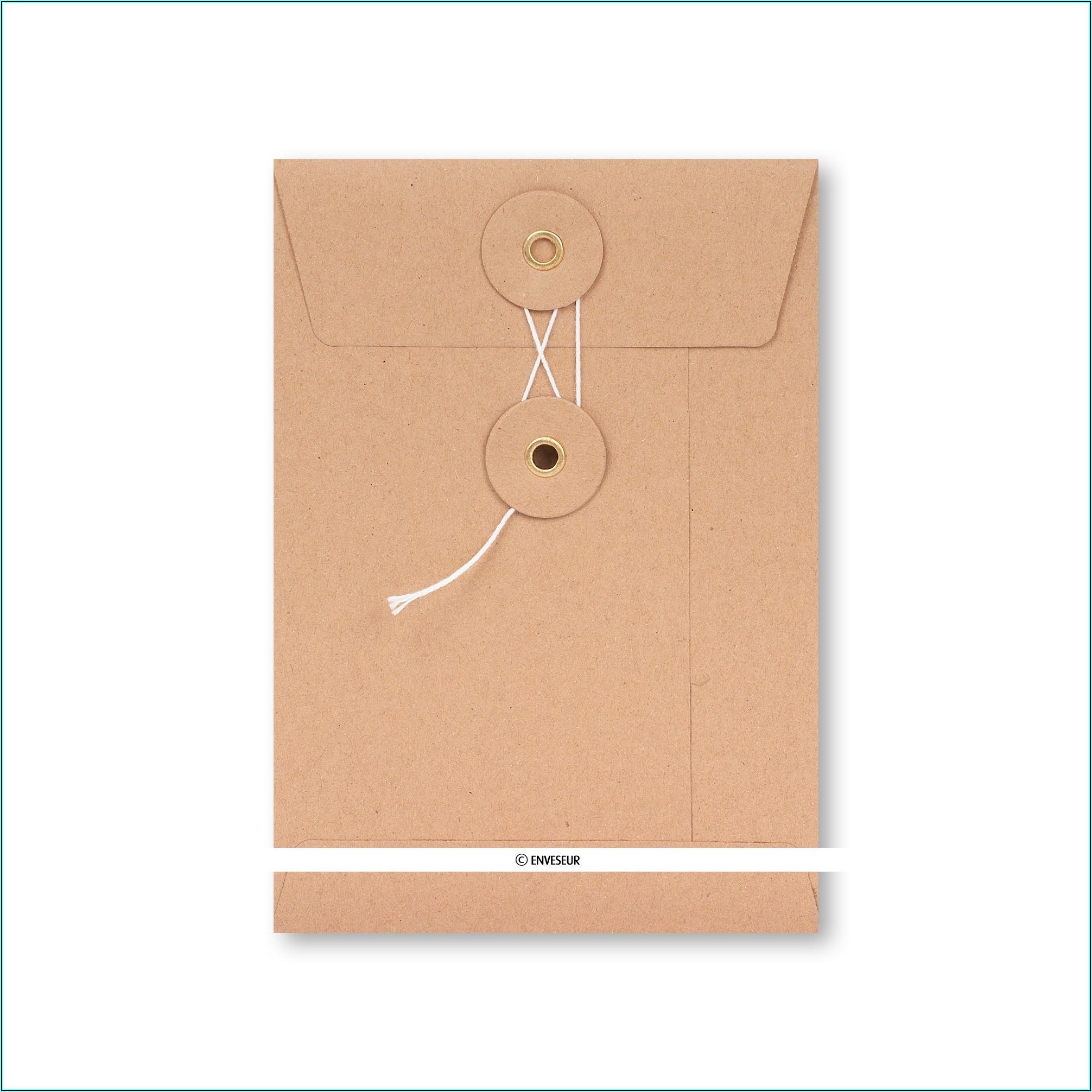 String And Washer Envelopes