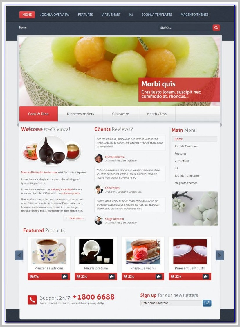 Template Joomla 2.5 28 Free Download