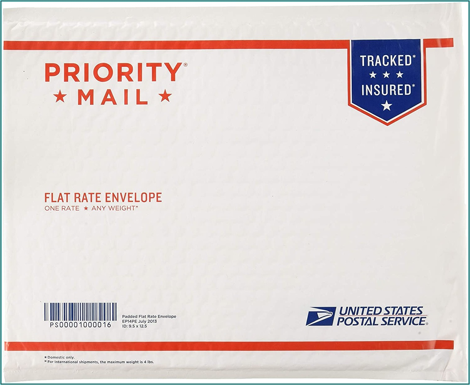 Usps Priority Mail Envelopes Sizes