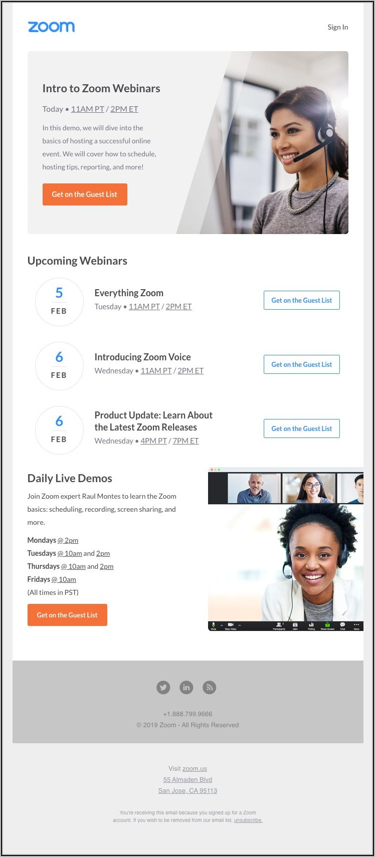 Webinar Invitation Email Templates