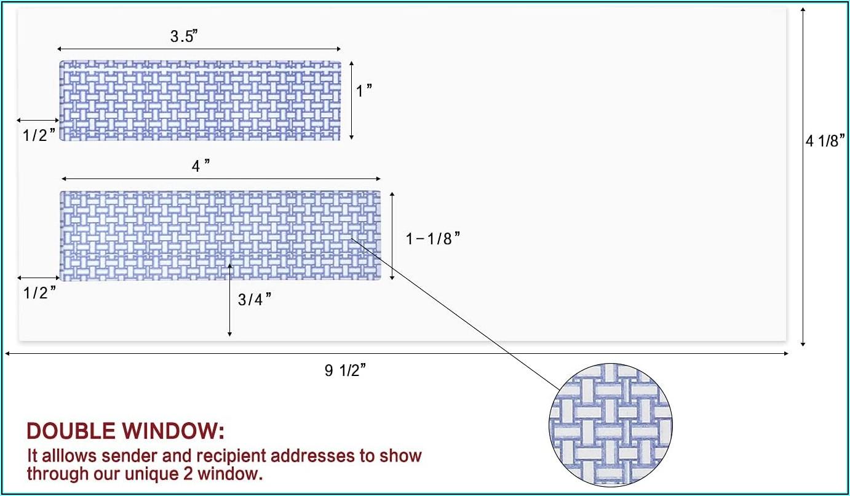 What Size Window Envelopes For Quickbooks Checks