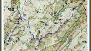 Adirondack Trail Map