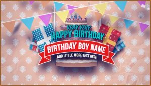 After Effects Birthday Slideshow Template Free