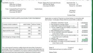 Aia Invoice Format