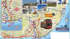 Athens Hop On Hop Off Blue Bus Map