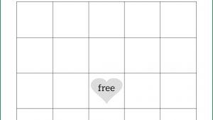 Baby Shower Bingo Template